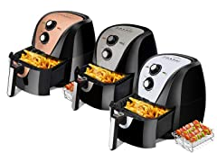 Secura Air Fryer 5.3-Quart Air Fryer - Pick Color