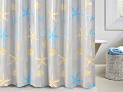 Rita PEVA Shower Curtain
