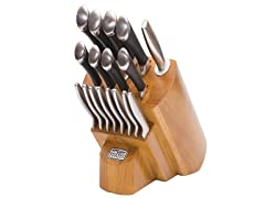 Chicago Cutlery Fusion Classic 18Pc Knife Block Set