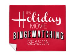 Holiday Movie Season Mink Fleece Blanket