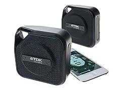 TDK Bluetooth Outdoor Speaker - 2pk