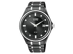 Citizen Eco-Drive Diamond Men's Watch
