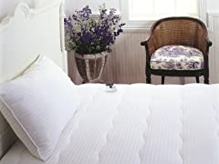 Stripe Electric Warming Mattress Pad- 4 Sizes