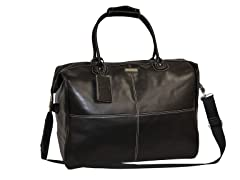 Faux Leather Duffle