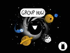Group Hug Unisex Poly Cotton Tank