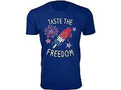 Men Taste The Freedom Tee