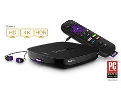 Roku Ultra 4K UHD Streaming Media Player