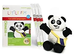 Chinese for Kids: Language Box Set Volume I w/Panda Plush