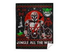 """Jingle All The Way"" Mink Fleece Blanket"