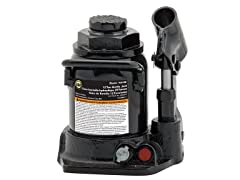10129B Black Shorty Hydraulic Bottle Jack - 12 Ton Capacity