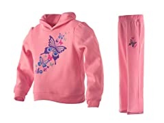 Fila Girls Fleece Set - Butterfly(5-6X)