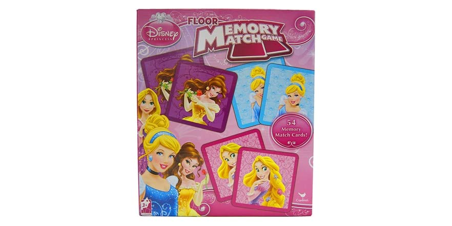 Disney Princess Floor Memory Match Game Kids Amp Toys