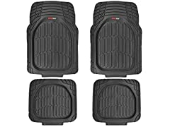 Motor Trend MT-921-BK FlexTough Heavy Duty Mats