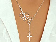 Trendy Cross Pendant Fashion Necklace