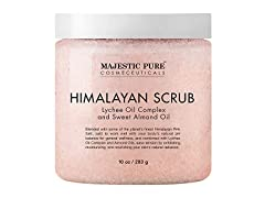 Majestic Pure Himalayan Salt Body Scrub