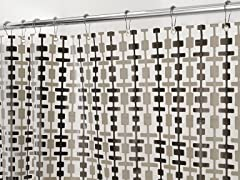 Interdesign Helix Shower Curtain