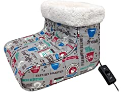 Thermee Micro Flannel Heated Foot Warmer