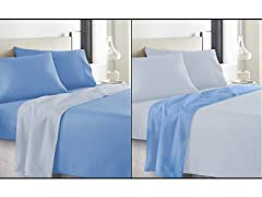 500 TC Cotton Reversible Sheet Set