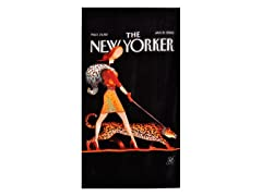 The New Yorker-Leopard Lady Beach Towel