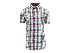 Men's SS Patterned Dress Shirts
