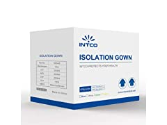 Level 3 Disposable Isolation Gowns (Pack of 100)