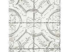 Newport Tin Tile Peel & Stick Wallpaper