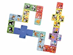 Furry Friends Dominoes Set