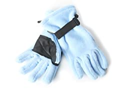 Fleece Gloves for Her - Blue