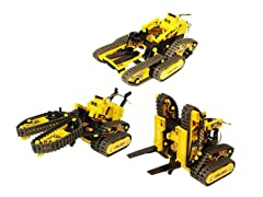 All Terrain 3-in-1 R/C Robot Kit