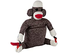 Sock Monkey Luggable Backpack