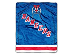 NY Rangers Throw