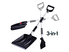 3 in 1 Snow Scraper Brush