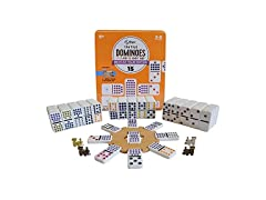 Regal Games Double 15 Colored Dominoes