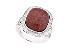 Goldstone Gemstone Ring