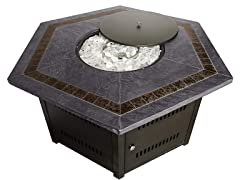 Hiland Fire Pit Table