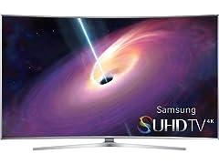 "Samsung 78"" Class JS9100 Curved 4K SUHD Smart TV"