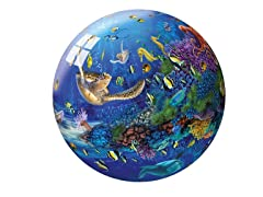 40-Pc Underwater World 3-D Puzzle Ball