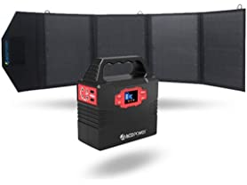 ACOPOWER Solar Panel and Generator Kit