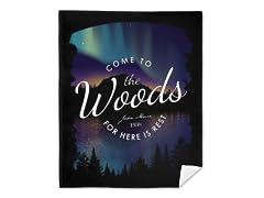 """""""Muir's Woods"""" Blanket"""