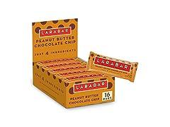Larabar Peanut Butter Choc Chip, 16ct