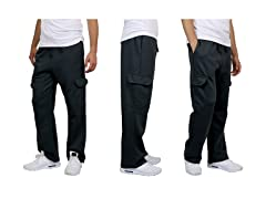 Men's Heavyweight Cargo Fleece Jogger Sweatpants