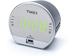 Timex Digital Alarm Clock with USB Charger