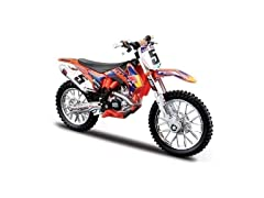 Bburago Die-cast Model - KTM 450 SX-F