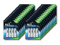 Fuji EnviroMAX Batteries 96 Pack - 96 AA