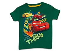 Toddler Cars Glow in the Dark Tee