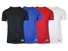 Men's Moisture Wicking Tees 4-Pack