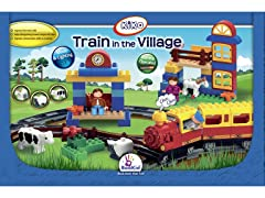 Train in the Village Play Set