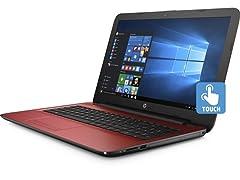 "HP 15.6"" Intel Quad-Core 1TB Touch Laptops"