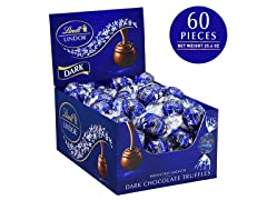 Dark Chocolate Truffles, 60 Count