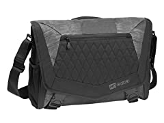 Vamp L Laptop Messenger Bag - Charcoal